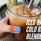 ICED Oat Milk Slushie Cold Brew At Home!